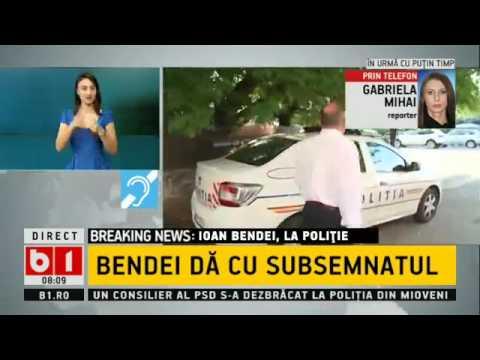 Administratorul RCS-RDS, Ioan Bendei, a dat cu subsemnatul la poliție: Acesta a fugit de jurnaliști
