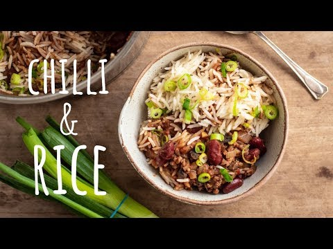 One Pot Chilli And Rice - Campervan Cooking - Easy Camping Recipes