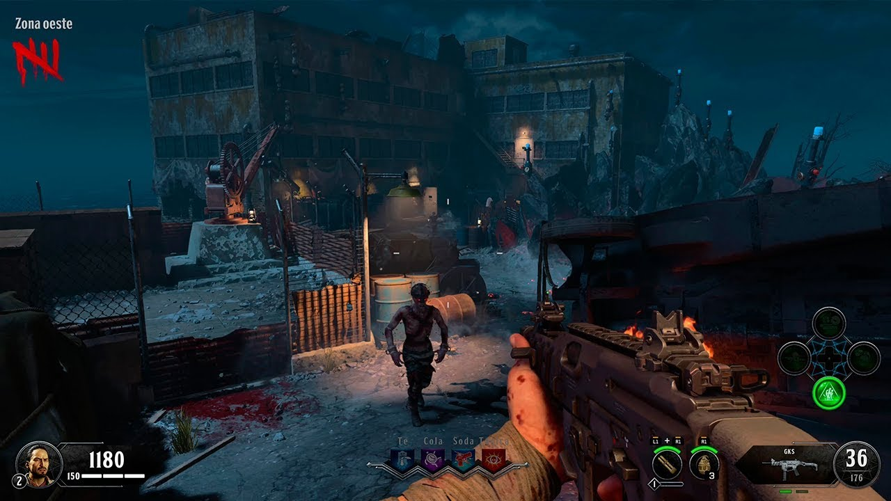 Call Of Duty Black Ops 4 Zombies Maps