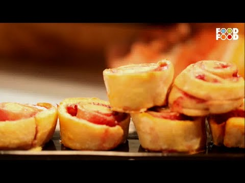 Hi Tea | Strawberry Scrolls | Chef Ajay Chopra | Valentine Day Special Recipes