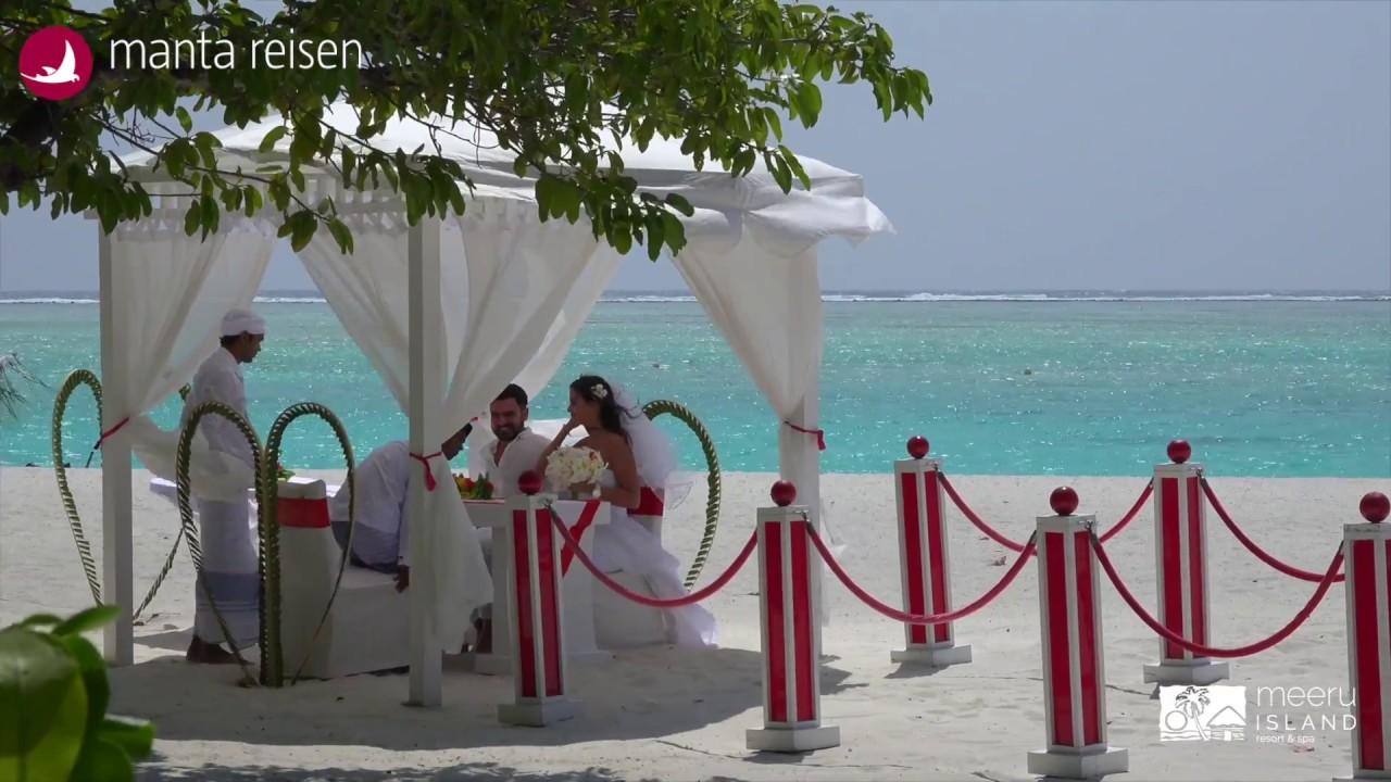 Malediven Mit Peter Wick Meeru Hochzeit Youtube