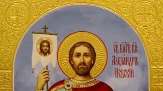 Икона рукописная Александр Невский(, 2016-11-09T10:47:32.000Z)
