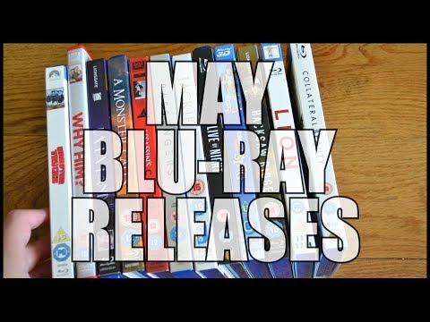 May Blu-ray Releases | Pick-ups & Overview