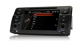 BMW E46 Pumpkin Head Unit Radio Nav review PT