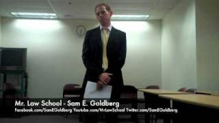 Mr. Law School (Sam E. Goldberg) - Oral Argument - Default Judgment