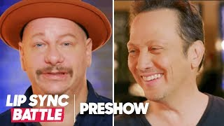 (EXPLICIT) Jeff Ross vs. Rob Schneider 🔥 Let the Roast Begin | Lip Sync Battle Preshow