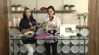 Aprenda a fazer uma linda tiara e um cinto com flor em tecido!