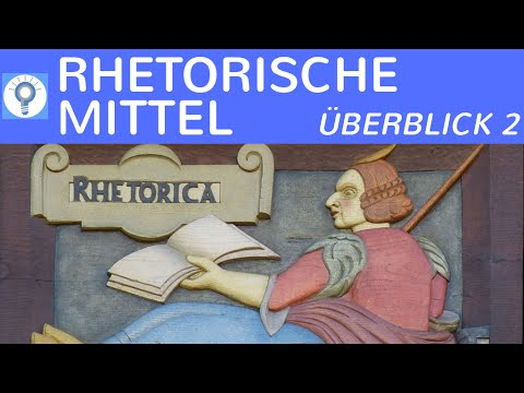 Rhetorische Stilmittel/ Figuren - Zusammenfassung Teil 2 - Metapher, Personifikation, Frage & mehr