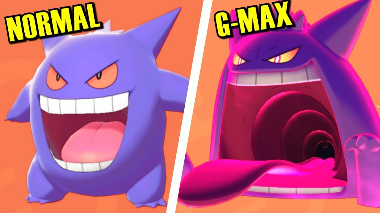 Pokémon Sword & Shield - All Normal vs Gigantamax Forms Comparison