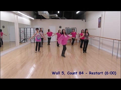 Heaven On Earth - Line Dance (Dance & Teach)