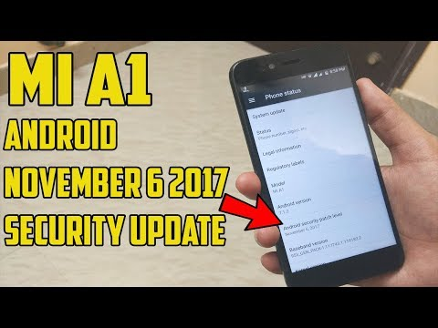 Xiaomi Mi A1 After November Security Update & Issues !!