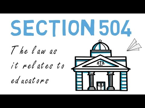 Section 504: Explained & Summarized