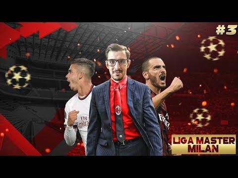 """""""PRIMERA VEZ DEL MILAN EN EL WANDA!!"""" LIGA MASTER #3 PES 2018"""