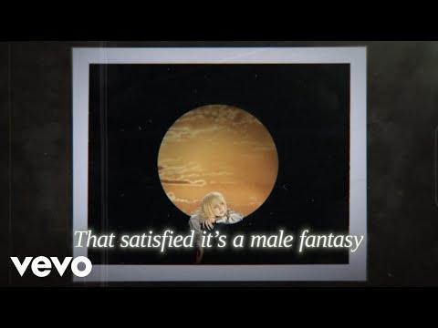 Billie Eilish - Male Fantasy (Official Lyric Video)
