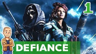 Defiance Gameplay Part 1 - New Character - Let