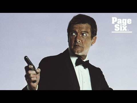 Roger Moore was the most memorable James Bond   Page Six