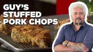 How to Make Guy&#39s Stuffed Pork Chops  Food Network