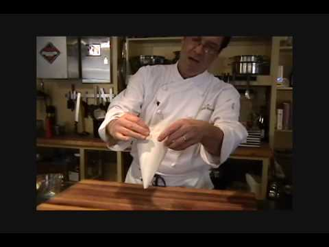 A Chef's Kitchen - Parchment Paper Pastry Bag.mov