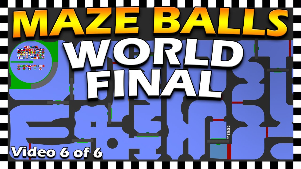 Country Maze Balls World Final - Marble Race