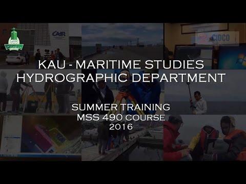 Canada Training MSS490 summer Course 2016 By King  Abdulaziz University and CIDCO