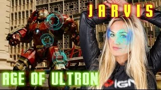 THE AVENGERS 2 AGE OF ULTRON IRONMAN JARVIS