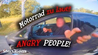 MOTORRAD  ZU LAUT?!! German Road Rage