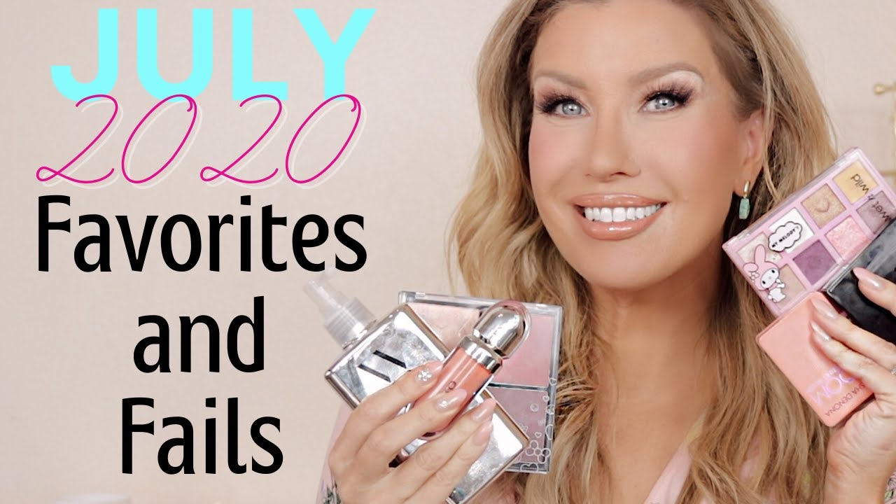 JULY 2020 FAVORITES AND REALLY DISAPPOINTING FAILS | Risa Does Makeup
