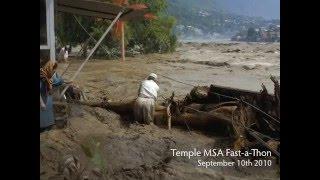 Temple MSA: Pakistan Flood Crisis Pictures