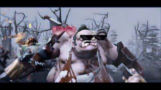 Dota 2 TR | Pudge hook + Sun strike ve Troll Riki - Caps #1