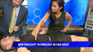 Fox 5 San Diego: Introducing the Brand New #EMSCULPT Applicators For Arms & Legs! #EMSCULPTIES