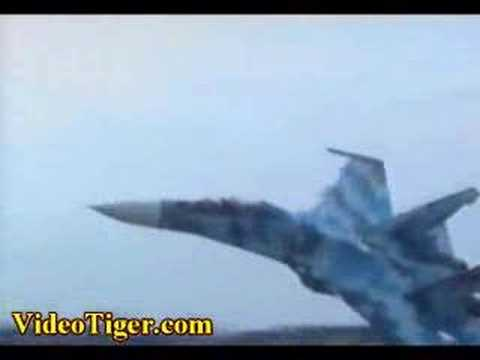 Ukrainian SU27 Jet Crash