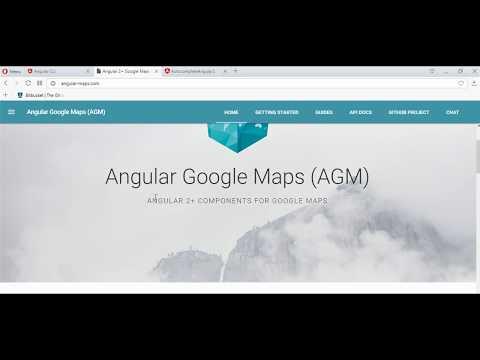 angular 2 google maps places autocomplete