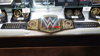 WWE ELITE TV SERIES BELTS FROM WRESTLEMANIA 35 SUPERSTORE
