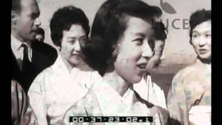 La settimana Incom 01155 del 08/10/1954 Arrivi in Italia Descrizion...