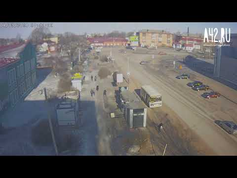момент аварии на транспортной г Киселевск 8 03 18