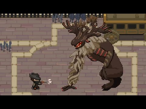 If Bloodborne was in 2D | Yarntown Gameplay (No Commentary)