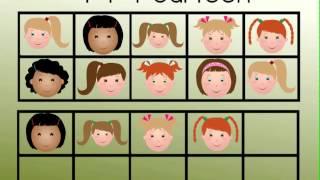 Preschool-Kindergarten Math Teen Numbers Song