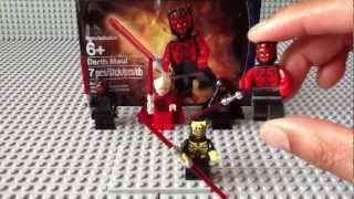 NEW Lego Star Wars SUMMER 2012 Darth Maul minifigure Polybag set review!