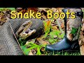- Snake Bite Proof ~ Snake Boots ~ vs Cheap Rubber Boots for Hunting or Hiking 2021