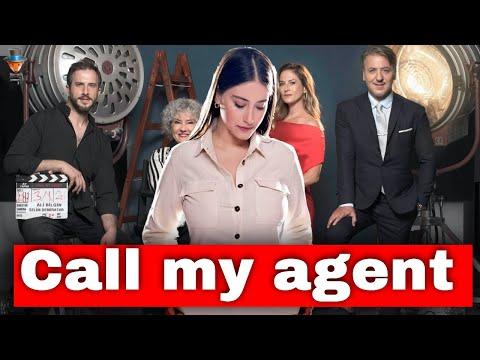 Hazal Kaya in the TV series Call my agent