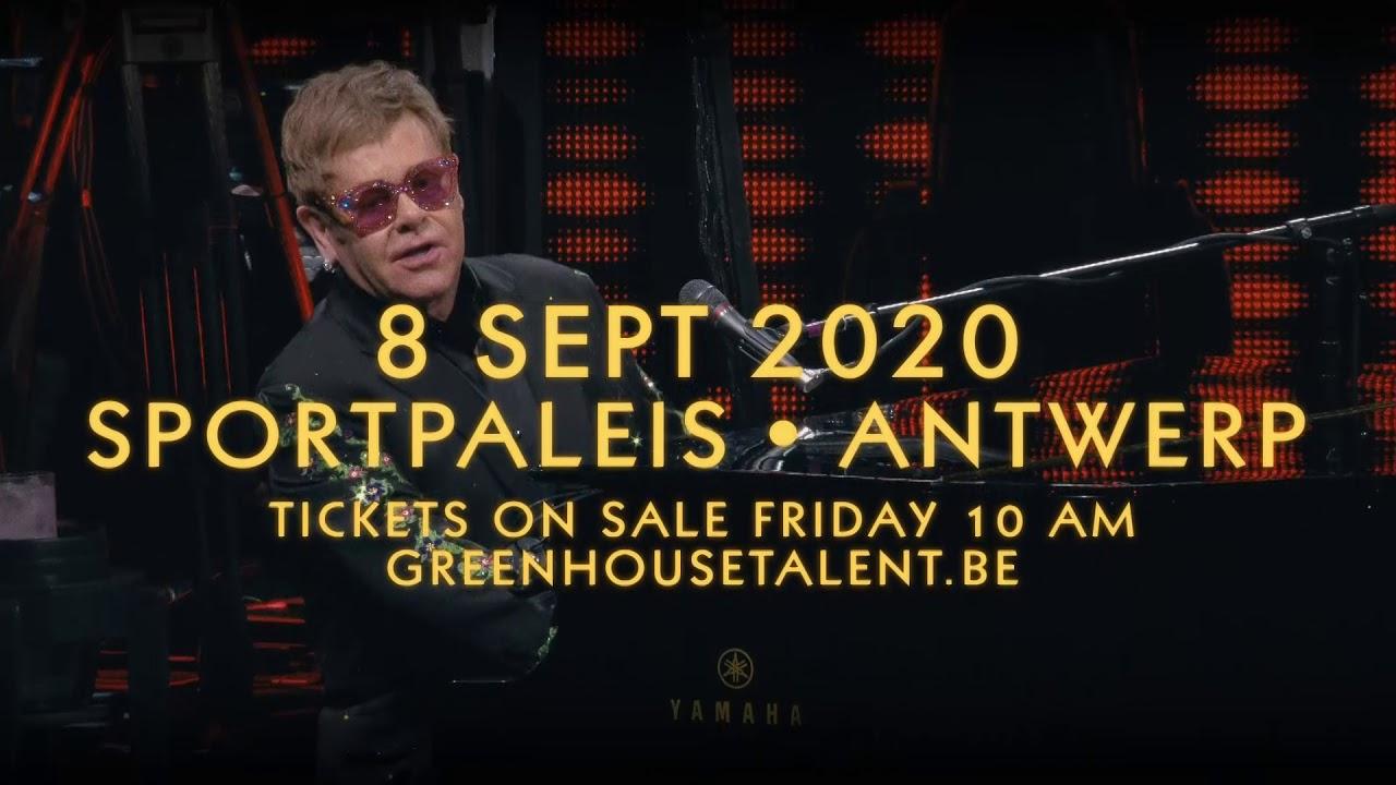 Elton John Tour 2020.Elton John Komt Opnieuw Naar Belgie Op 8 September 2020 In Het Sportpaleis