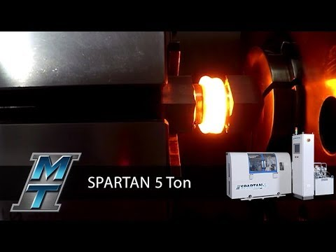 Rotary Friction Direct Drive Welder - SPARTAN 5 Ton