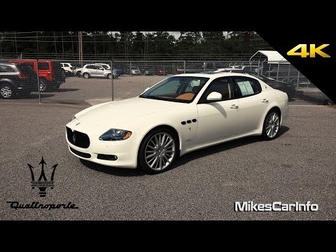 2011 Maserati Quattroporte S - Ultimate In-Depth Look in 4K