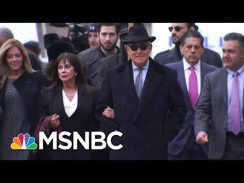 Judge Rebuffs Trump, Sends Adviser Roger Stone To Prison For Three Years | MSNBC