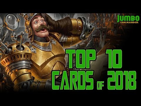 Top 10 Commander Cards of 2018
