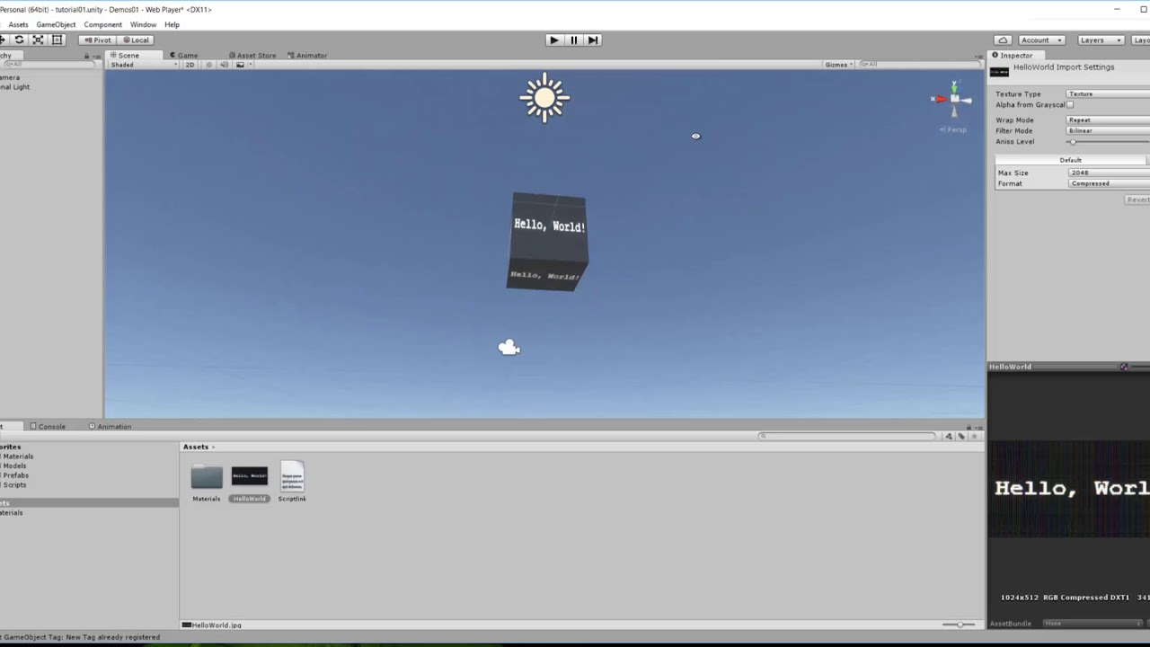 Unity model creation and exporting for 7D2D SDX - Tutorial 01