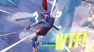 THIS FORTNITE SEASON 7 GLITCH IS SO WEIRD!!