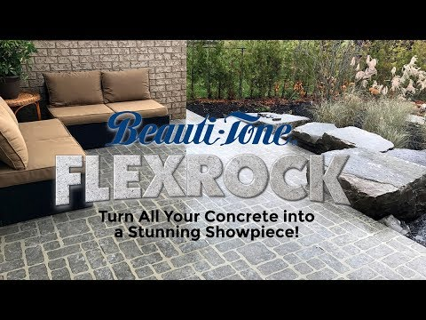 Beauti Tone Flexrock Decorative Concrete Resurfacing Kit How To