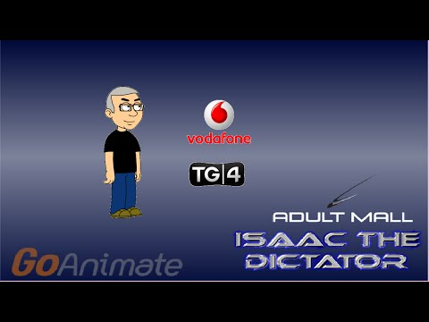 Isaac The Dictator Isaac Watches LL95's TG4 and Vodafone Ident's