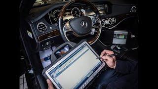 Считывание и сброс ошибок c OBD2 на Mercedes-Benz...